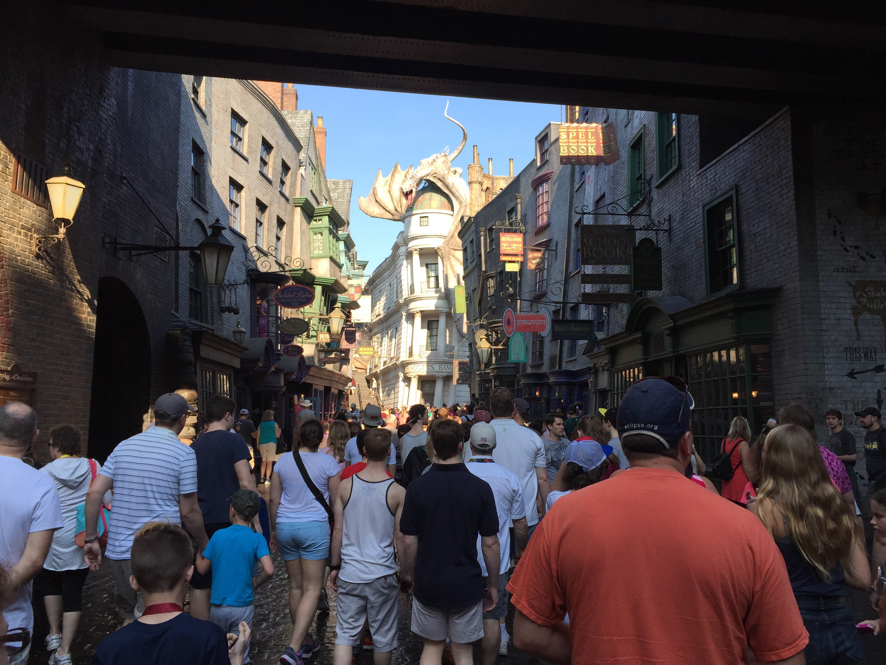 la entrada principal a Diagon Alley