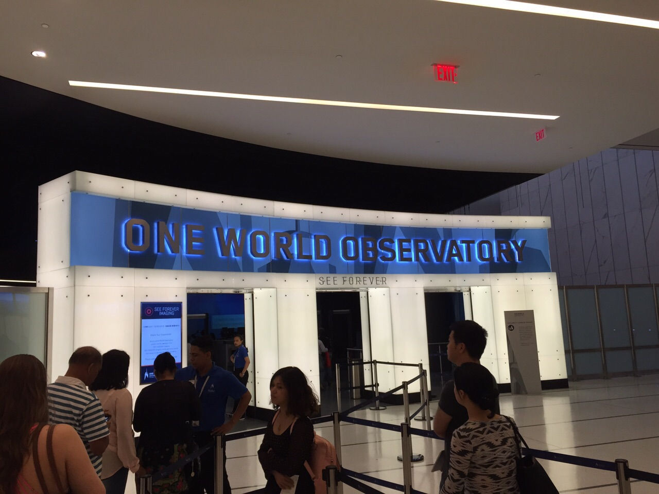 One World Observatory Entrance