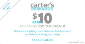 carters rewards