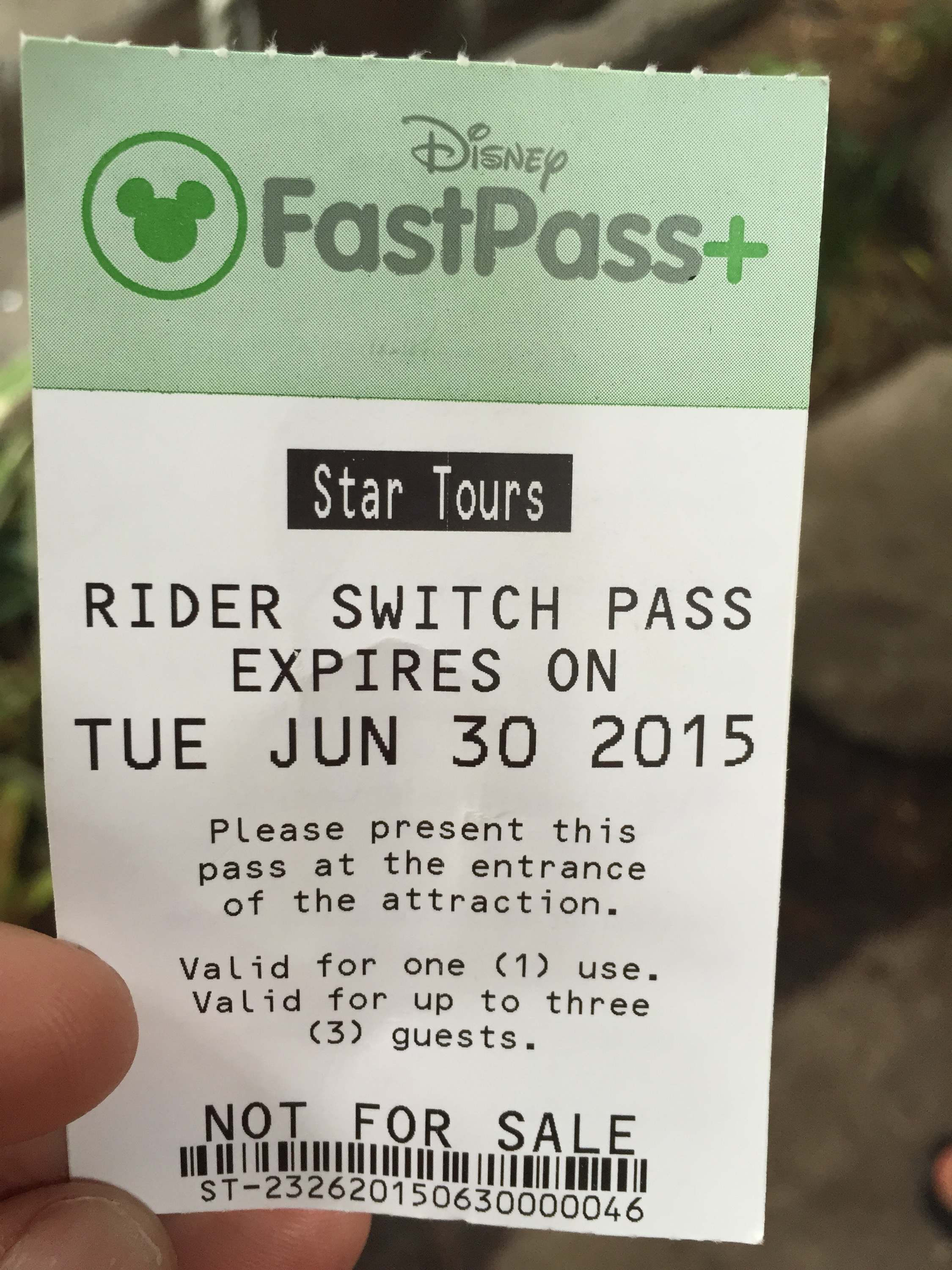 Rider Switch Pass