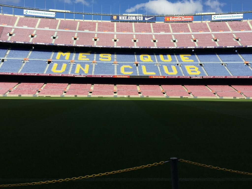 el tour del Camp Nou
